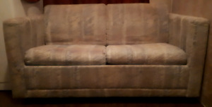 Couch with pull out cot