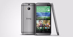 htc m8 32gb unlocked  with box clean  $299