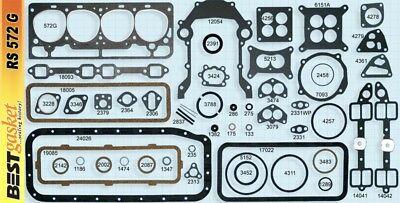 Ford/Edsel/Mercury 272 292 Y-Block Full Engine Gasket Set/Kit BEST