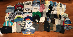 Huge Lot of 3-6 Months Boys Clothing!!