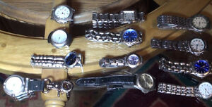 12 watches All working