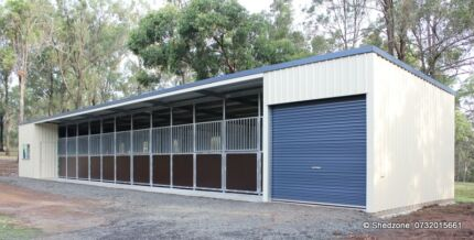 STABLE 9x6x2.4 A PALACE FOR YOUR PONY!!!!!!! Kenmore Brisbane North West Preview