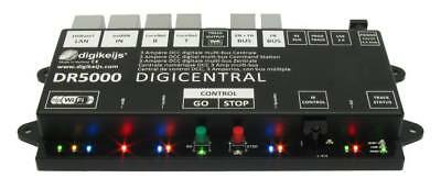 Digikeijs DR5000 DCC Command Station ~ LocoNet, XpressNet, Railcom, WiFi, USB