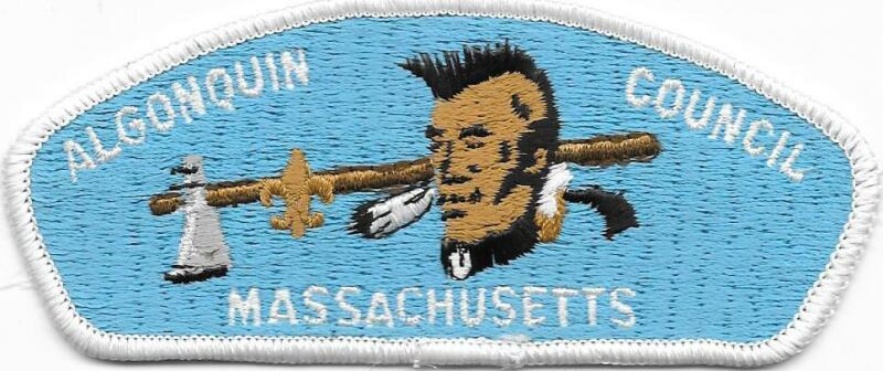 Algonquin Council Cloth Back Strip CSP SAP Boy Scouts of America BSA