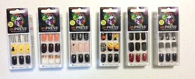 Kiss Impress Press-on Manicure Limited Edition Halloween 30 Nails Choose