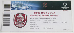 Ticket for collectors CL CFR Cluj Galatasaray Istanbul 2012 Romania Turkey - <span itemprop='availableAtOrFrom'>Internet, Polska</span> - Ticket for collectors CL CFR Cluj Galatasaray Istanbul 2012 Romania Turkey - Internet, Polska