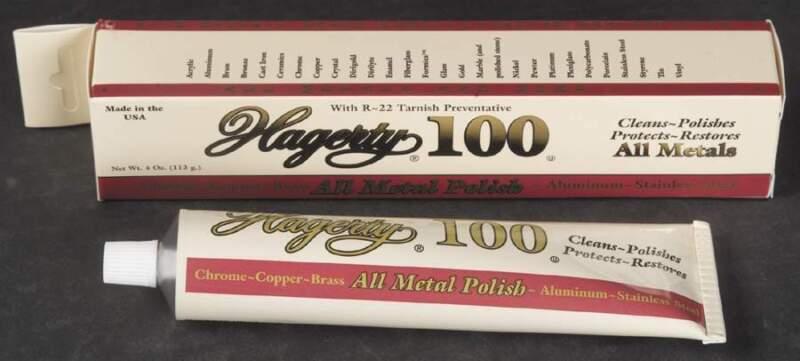 Hagerty SILVER CARE All Metal Creme Polish 4 Oz 10926696