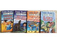 4 Terry Deary's Greek Tales Books