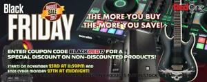 BLACK FRIDAY SPECIAL SALE ON PRO AUDIO - LIGHT - SPEAKER - CABLE - MICROPHONE - DJ EQUIPMENT - GUITAR - WIRELESS