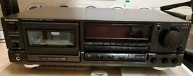 Technics RS-BX707 3 Head Stereo Cassette Deck