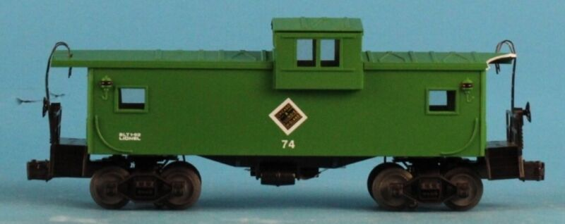 Lionel O Gauge Chicago and illinois #74 Midland Caboose Car U