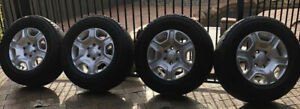 Ford ranger px2 standard wheels and tyres