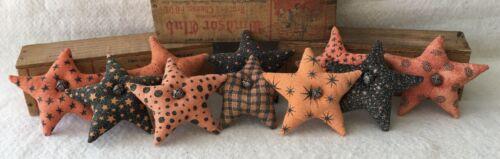 Primitive Ornies HALLOWEEN  Mini STARS Bowl Fillers Prim Ornies Make Do