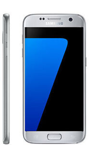 Excellent condition Samsung Galaxy S7 silver 32G