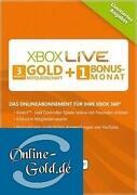 Xbox Live 3 Monate