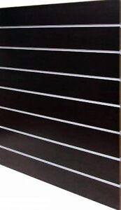 New slatwall panel shop fitting  with Aluminium Insets From $79 Regents Park Logan Area Preview
