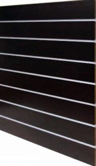 New slatwall panel shop fitting  with Aluminium Insets From $79