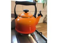 Le Creuset traditional kettle - volcanic colour.