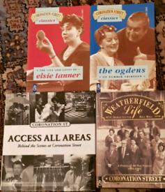 Vintage Coronation street books