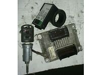 Vauxhall Corsa 1.2 16V ECU. Key, Transponder, Ignition Barrel (2003)