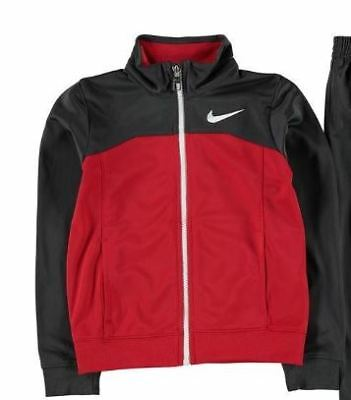 Nike Tricot Tracksuit Jacket Kids Infants Grey/Red Age 12 - Kids Tricot Jacket