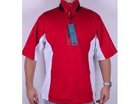 Stuburt sport Short Sleeve Golf Jacket top Medium size BNWT
