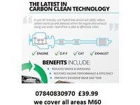 complete carbon clean mobile service offer just £39.99 for all M60 AREAS