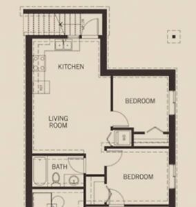Newer, bright 2 Bed basement suite for rent