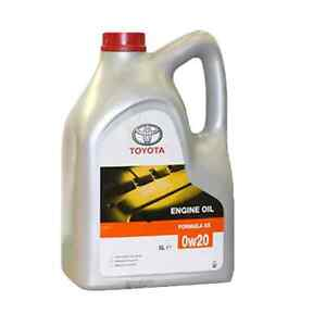 Genuine Toyota Hybrid 0w20 Synthetic Engine Motor Oil