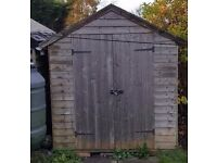 8ft Long by 6ft Wide Fully Insulated Double Door Shed (Approx 3 Years Old) £150