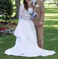 Wedding Dress/Shoes and Flower Girl Outfit