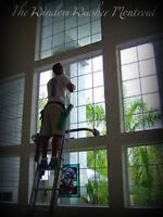 WINDOW WASHING (HOME & BUSINESS) --