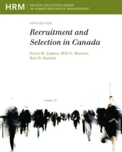 Recruitment and Selection- Human Resources Textbook