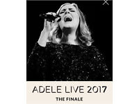 Adele Ticket Block 516 x 1