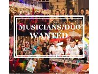 Musicians wanted!