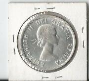 1957 Canadian Silver Dollar