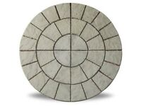 Cathedral Circle Moss 1.8m Patio Paving Feature Kit £119.99 Garden Slabs / Flags 0161 962 9127