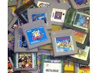 GAME BOY ORIGINAL GAMES WANTED