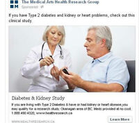 Heart or Kidney complications because of Diabetes?