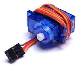 Micro SG90 Servo Motor - for Vehicles & Remote Controlled Toys