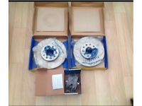 Seat leon mk2 2.0 Tdi 140 sport 2005-2012 front brake discs and pads set