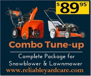 Mobile Lawnmower & Snowblower Tune-Up ONLY $89.95