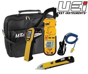 NEW UEI HVAC TEST EQUIPMENT KIT UEI Test Equipment HVACKIT Comprehensive Kit for HVAC/R Professionals 108467950