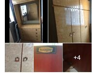 Vintage Wardrobes - sturdy/well looked after/ offers - collection only kettering