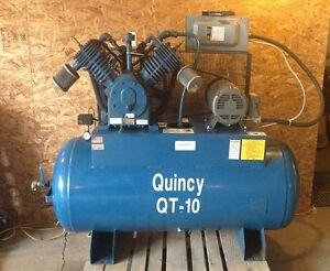 Quincy QT-15 120 gallons air compressor