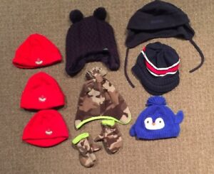 Winter Toques/Hats 0-12mth