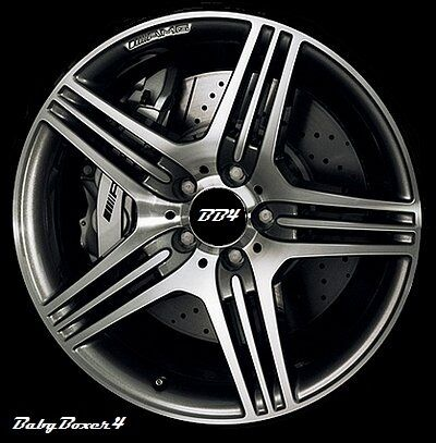 "Mercedes Benz AMG Style 19"" inch Alloy Machined Wheels C Class Kompressor New"