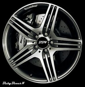 Mercedes benz amg style 19 inch alloy machined wheels c for Mercedes benz 19 inch amg wheels