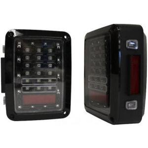 RT Offroad LED Jeep Tail Lights For 2007-18 Wrangler