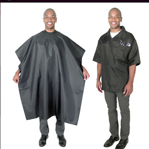 Scalpmaster Barber Jacket and Cutting Cape Set 4004 Salon NApero